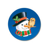 Snowman and Owl Seals, Set of 21