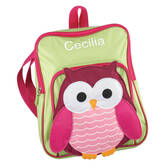 Personalized Owl Backpack