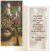 Candlelight Christmas Card Set/20   Card and Envelope Personalization