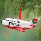 Personalized Airplane Ornament