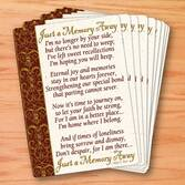 Memorial Wallet Cards - Set Of 25
