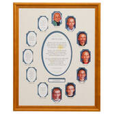 School Years Collage Frame - Blue