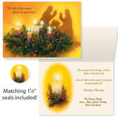 Reflections of Christmas Card Set of 20   Card Only Personalization