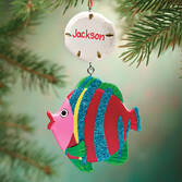 Personalized Tropical Fish Ornament   Personalized