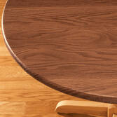 Wood Grain Fitted Table Cover