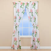 Camellia Curtain Pair  63 Inch Curtain