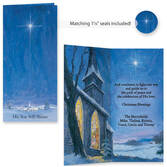 The Star Still Shines Christian Christmas Card Set of 20