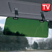 Visor Extender With Clips