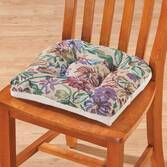 Tapestry Tufted Chair Pad