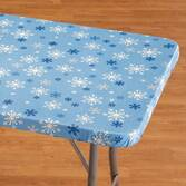 Snowflake Banquet Table Cover  36