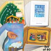 Christmas Blessings Christmas Cards Set of 80