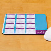 Personalized Contemporary Calendar Mousepad