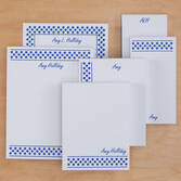 Personalized Polka Dots Basketful of Notepads Refill Set of 6