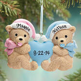 Personalized Twins Christmas Ornament