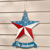 Personalized Barn Star Door Hanger by Maple Lane Creations™