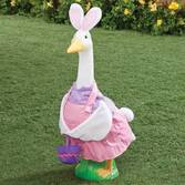 Easter Bunny Girl Goose Outfit