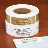 Bold and Centered Address Labels, 250