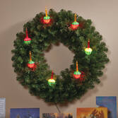 Bubble Light Wreath