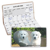 Adorable Puppies Personalized 2-Year Planner