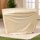 Beige Gas Grill Cover