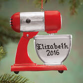 Personalized Mixer Ornament   Personalized