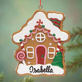 Personalized Gingerbread House Ornament   Personalized