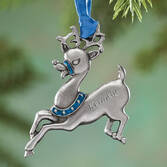 Personalized Birthstone Reindeer Ornament