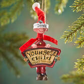 Mom's Favorite Youngest Child Ornament