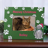 Personalized Meowy Christmas Frame