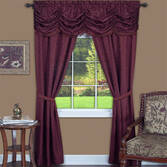 Gathered All-in-One Window Treatment