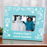 Personalized Special Snowflake Picture Frame