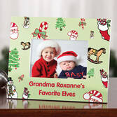 Personalized Favorite Elves Picture Frame   Personalized
