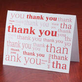 Many Thanks Note Cards, Set of 25