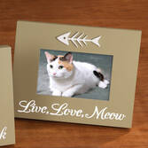 LED Live, Love, Meow Picture Frame