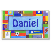 Personalized Sports Name Plaque