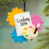 Personalized Artist Ornament