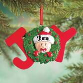 Personalized Baby JOY Ornament
