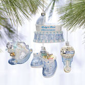 Personalized Baby's First Christmas Ornament Gift Set