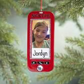 Personalized Selfie Frame Ornament
