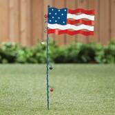 American Flag Metal Stake by Maple Lane Creations™